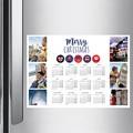 Calendrier Monopage 2020 Calendrier Anglais pas cher