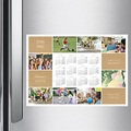 Calendrier photo monopage 2020 personnalisé Diaporama annuel pas cher