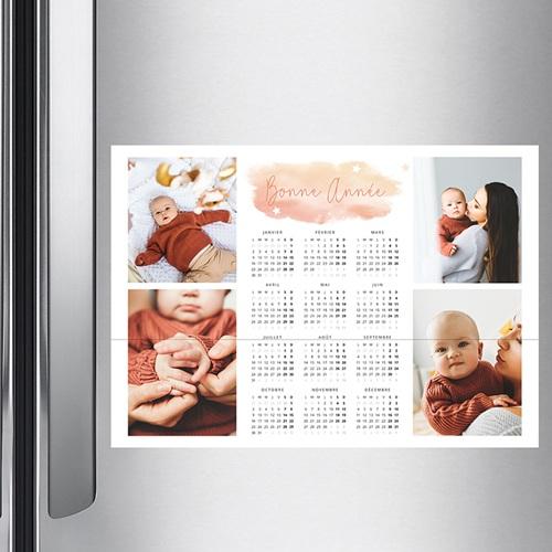 Calendrier Monopage - Souvenirs de Noel 36776 thumb