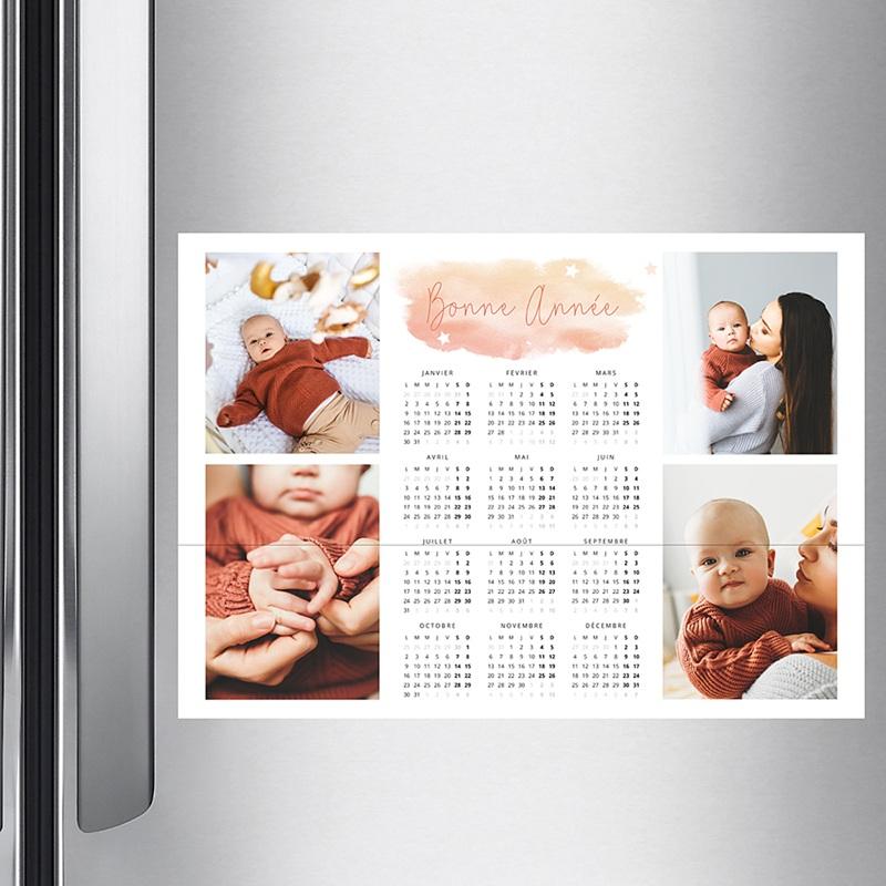 Calendrier Monopage 2020 Souvenirs de Noel pas cher