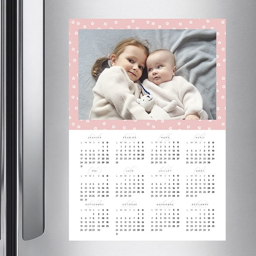 Calendrier Monopage - Floral 36777 preview