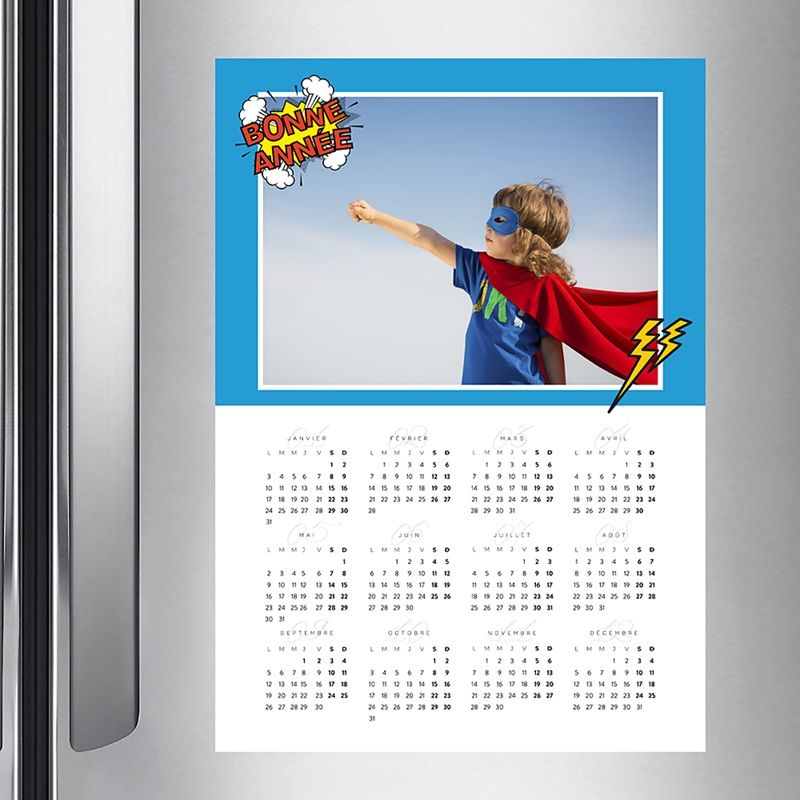 Calendrier Monopage - Super Année 36780 thumb
