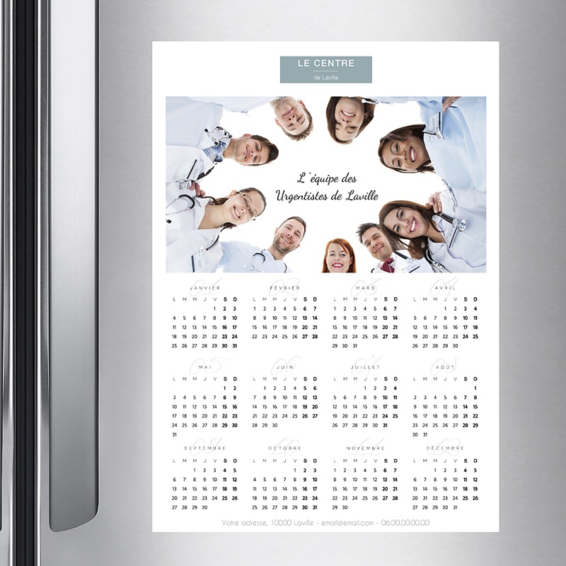 Calendrier Entreprise 2020 Pro Photo pas cher