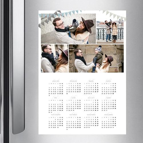 Calendrier photo monopage 2020 personnalisé Enguirlandé - A3 pas cher