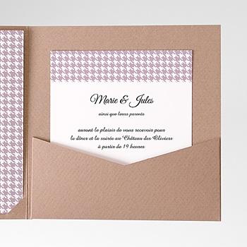Carte d'invitation lady and gentleman à personnaliser