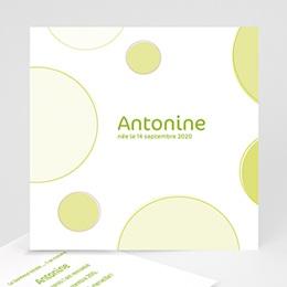 Faire-Part Naissance Fille - Antoine 3702