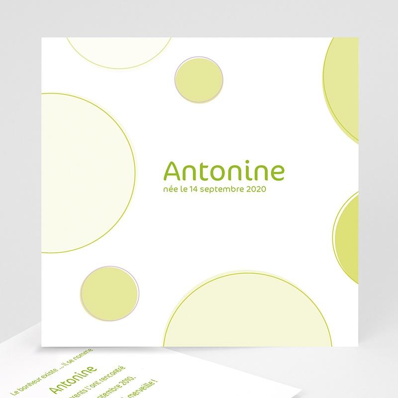 Faire-Part Naissance Fille Antonine