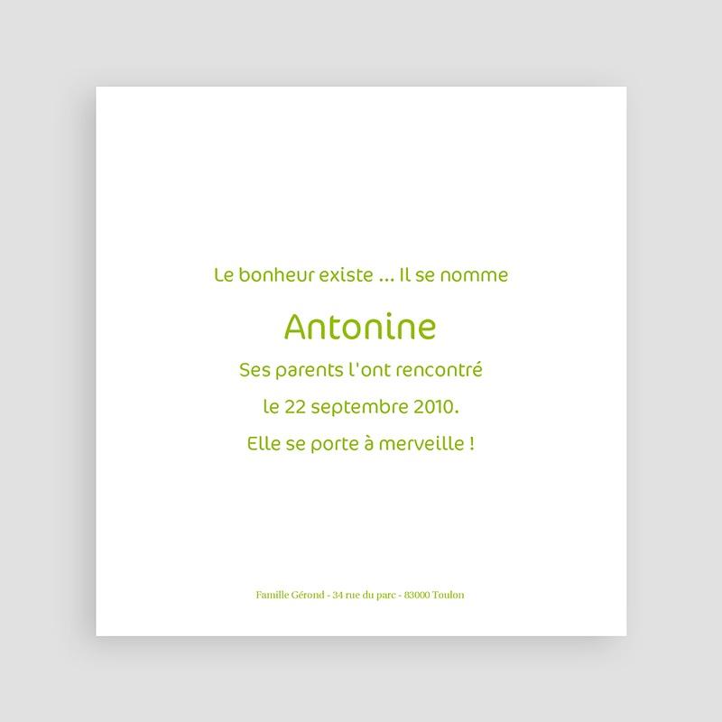 Faire-Part Naissance Fille Antonine pas cher