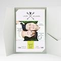 Faire Part Mariage Pochette rectangulaire - Petits mots d'amour 37088 thumb