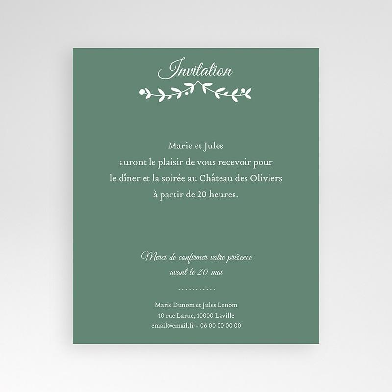 Carte d'invitation Diadème