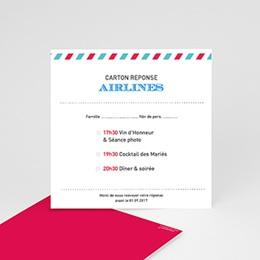 Cartons réponse Airlines