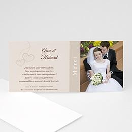 Remerciements Mariage Personnalisés - Nous deux - invitation photo, remerciements - 3