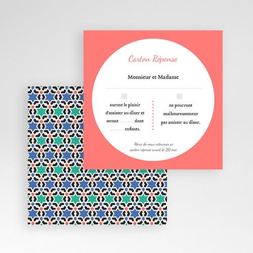 Cartons réponse Oriental Style gratuit