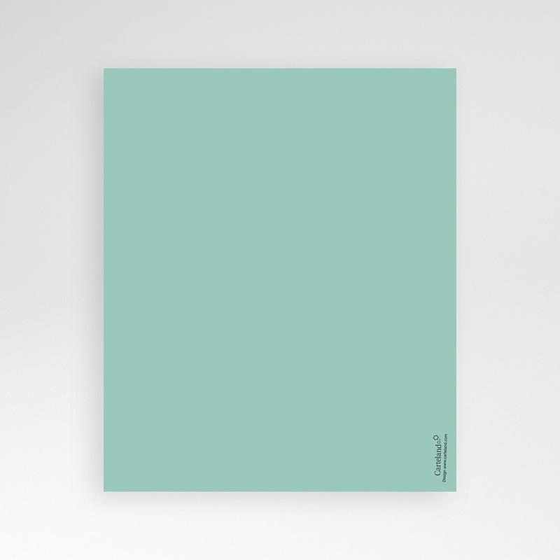 Carte d'invitation Rayures noires pas cher