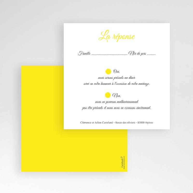 Cartons réponse Citron gratuit