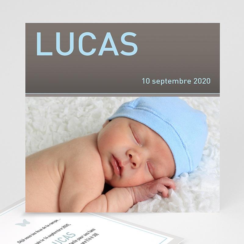 Faire-Part Naissance Garçon Lucas
