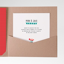 Carte d'invitation Cultivons l'Amour