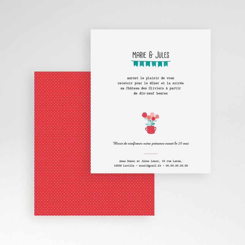 Carte d'invitation Cultivons l'Amour gratuit