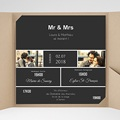 Faire-Part Mariage - Mr & Mrs So-and-so - 3638