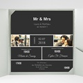 Faire-Part Mariage Pochette carré Mr & Mrs So-and-so gratuit