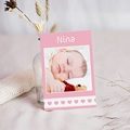 Carte coeur rose - 3