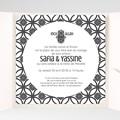 Faire-Part Mariage Pochette carré - Ispahan 37957 thumb