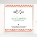 Faire-Part Mariage Pochette carré - Cupidon 38094 thumb