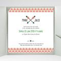 Faire-Part Mariage Pochette carré - Cupidon 38095 thumb
