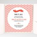 Faire-Part Mariage Pochette carré - Origami 38170 thumb