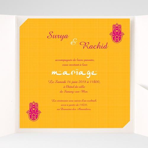 Faire-Part Mariage Pochette carré - Jaipur 38510 preview