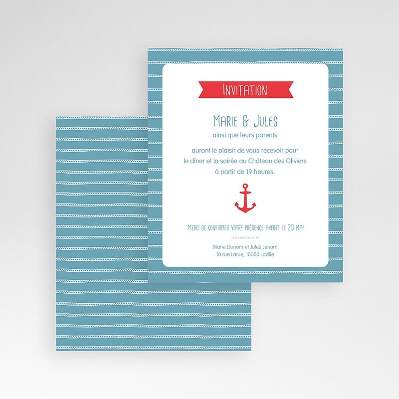 Carte d'invitation Vent Marin gratuit