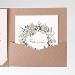 Carte d'invitation Marions-nous !