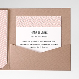 Carte d'invitation Love in Paris