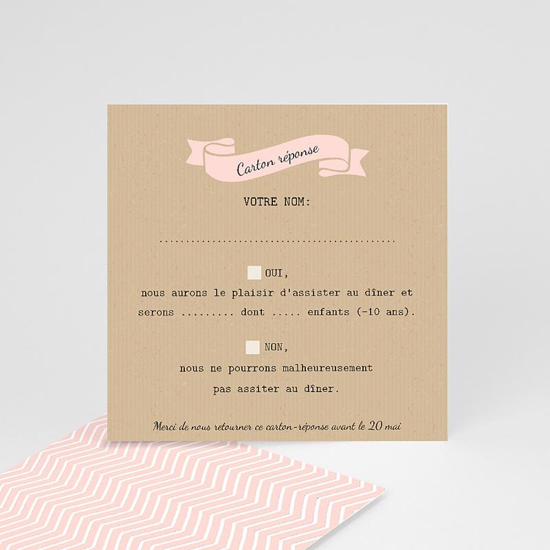 Cartons réponse Love in Paris
