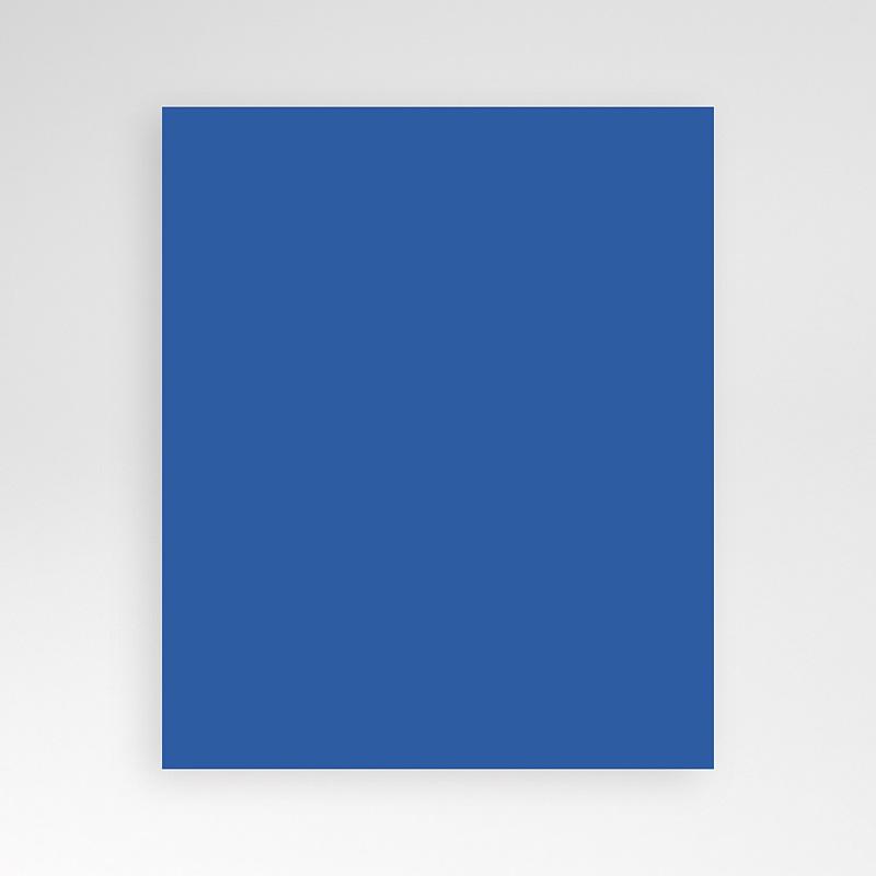 Carte d'invitation Bleu Orient pas cher