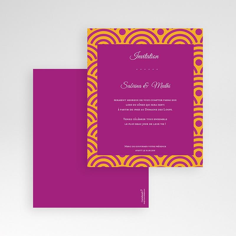 Carte d'invitation Extrême Oriental gratuit