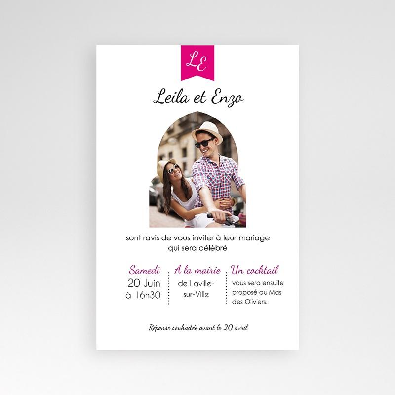 Faire Part Mariage Pochette rectangulaire - Ambiance d'Orient 38700 thumb