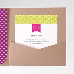 Invitations Ambiance d'Orient
