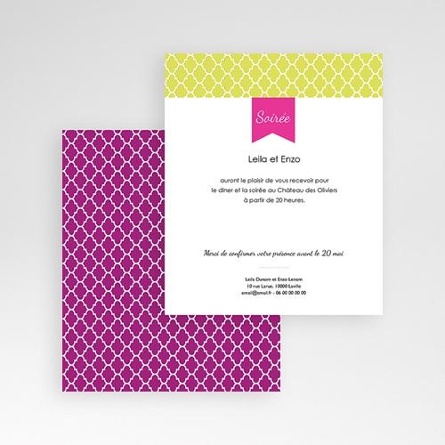 Carte d'invitation Ambiance d'Orient gratuit