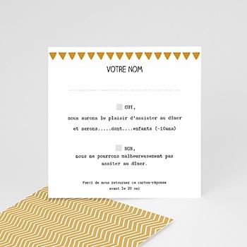 Cartons réponse Photo et confettis