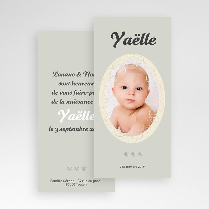 Faire-Part Naissance Fille - Miroir, mon beau miroir 3879 thumb