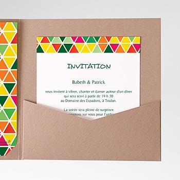 Acheter carte d'invitation tropical