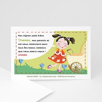 Remerciements Naissance Fille - La meilleure des grandes soeurs brunes - 3