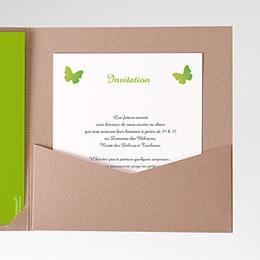 Invitations Papillon Pop