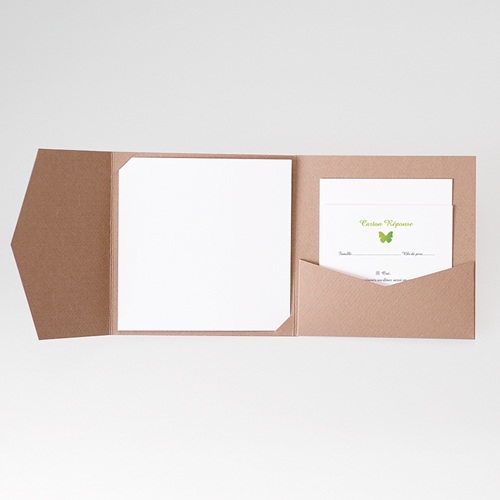 Cartons réponse Papillon Pop