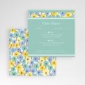 Cartons réponse Jolies Fleurs gratuit