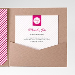 Carte d'invitation Simple et chic