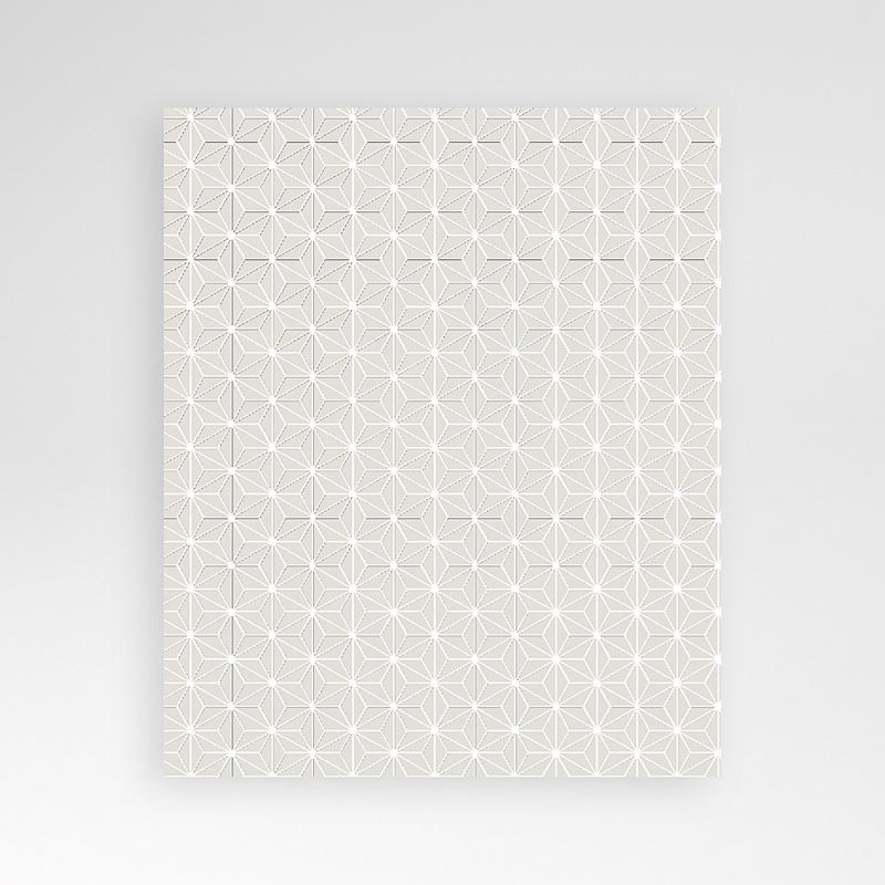Carte d'invitation Origami pas cher