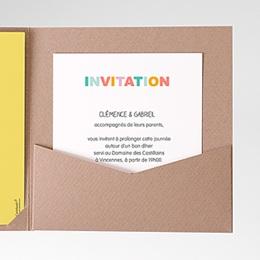 Carte d'invitation Bonnes Mines