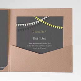 Carte d'invitation Soir d'Eté